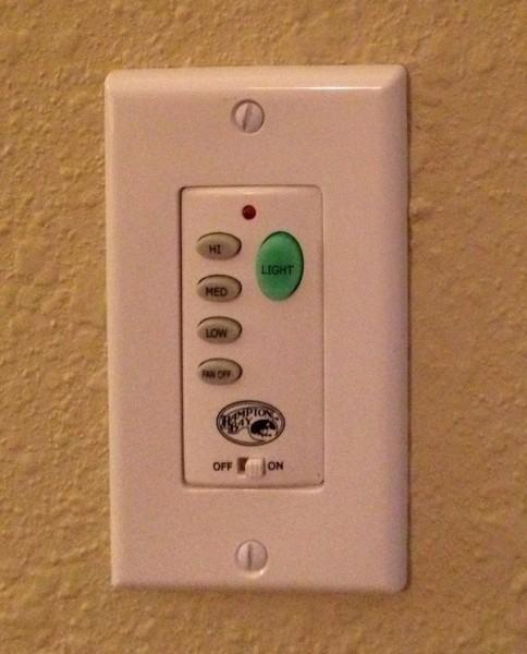 Fan/Light Switch