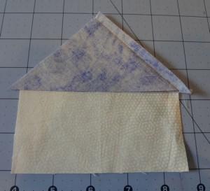 Adding Fabric 4 Triangle