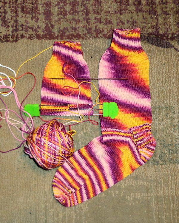Into the Whirled Socks