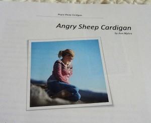 Angry Sheep Cardi