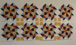 Second Row of Blocks