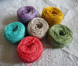 Yarn for Addie's Blanket