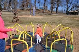 Addie in the Park