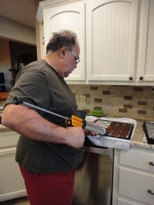 Vince Making Jerky