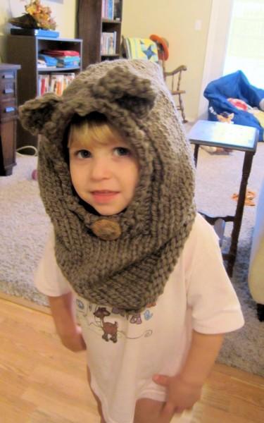 Addie's Bear Cowl