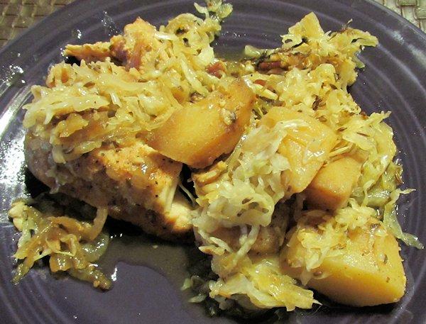 Pork Loin with Sauerkraut