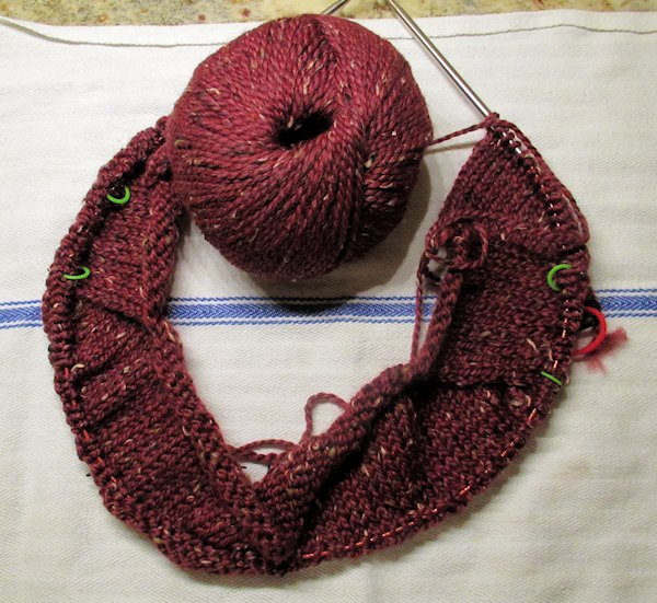 Test Knit for Laura Aylor