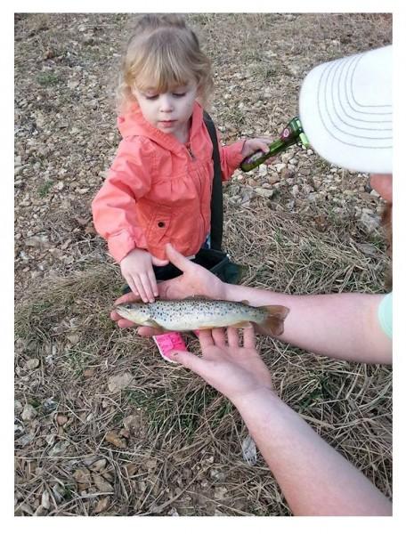 Addie Fishing