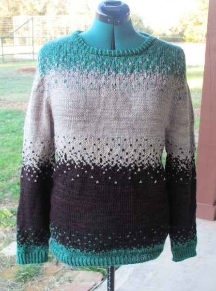 Pixelated Pullover