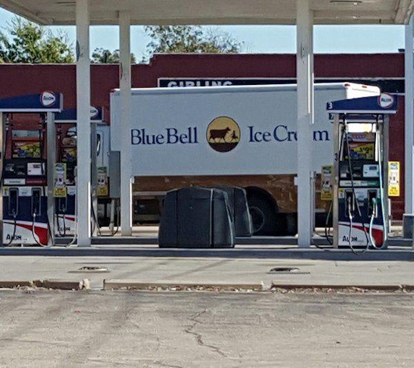 Blue Bell Truck