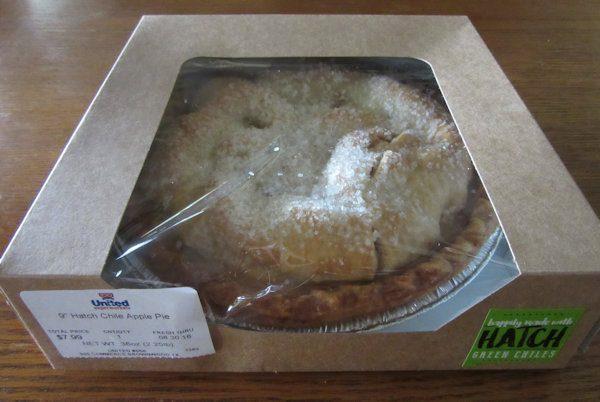 Hatch Chile Pepper Apple Pie