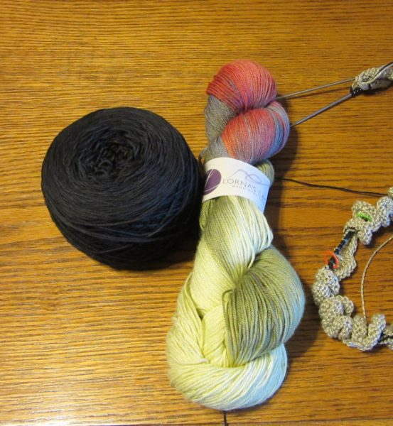 Yarn for Stained Glass Cowl